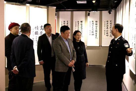 张成生书法作品巡展在黑龙江大学开幕